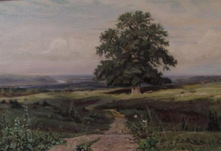 mastercopy landscape Ivan Shishkin oil